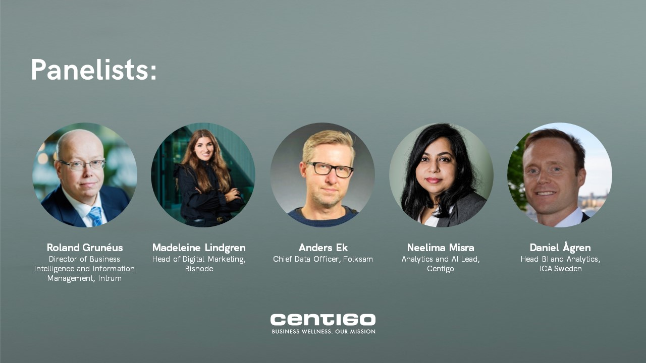 Making business from data_Centigo_panelists